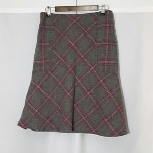 Talbots Wool blend lined skirt